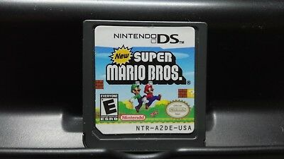 New Super Mario Bros. (Nintendo DS, 2006, cart only!)