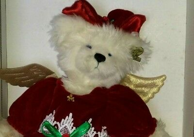 Annette Funicello Guardian Angel Bear Numbered W/ Certificate Excellent Cond. Annette Funicello Bears