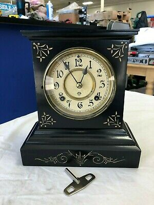 Ansonia Clock Co Windup Mantle Clock With The Key