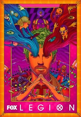 "Legion Poster Noah Hawley Season 3 TV Series Psychedelic Art Print 13x20"" 18x24"""