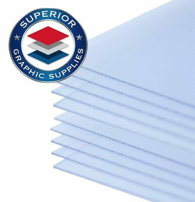 "PETG Clear Plastic 10 Sheets Thermoforming UV Protection .020 Mil-(8.5"" X 11"")"