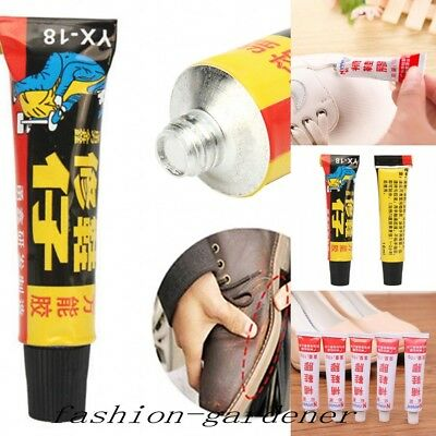 2 Style Super Strong Adhesive Fixer Leather Shoe Repair Glue Sole Boots Rubber