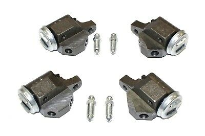 Set Of 4 Front Brake Wheel Cylinders For The Morris Isis Series 1 1955-1956