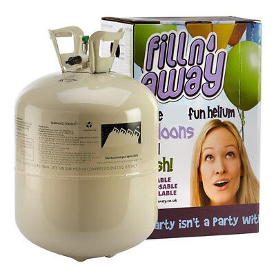 Balloon Helium Gas Disposable Cylinder Canister NEXT DAY DELIVERY