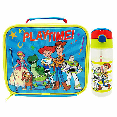 Disney Pixar Toy Story 4 Lunch Bag and Drinks Bottle *BRAND NEW*