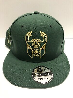 6a0cfce803fa Men s Milwaukee Bucks New Era Green Playoff 9FORTY Snapback Adjustable Hat