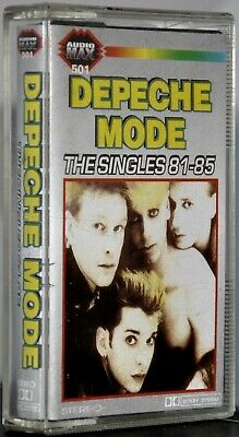 "Depeche Mode ""The Singles 81-85"" Rare Polish Cassette!"