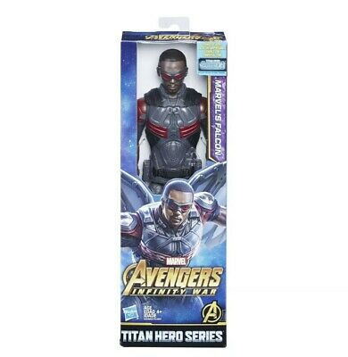 "Marvel Avengers Infinity War Titan Hero Series Marvels Falcon 12"" Action Figure"