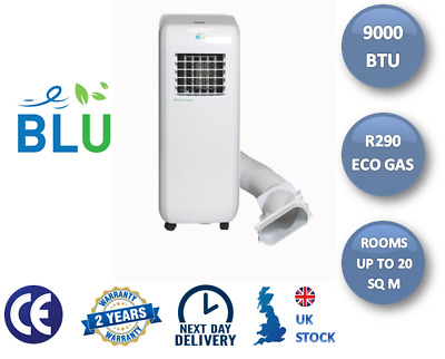 BLU09 Portable Air Conditioning Unit - 9,000BTU + Free Next Working Day Delivery