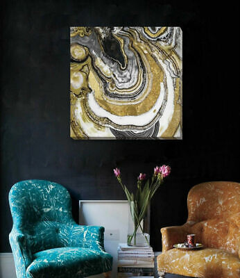 Abstract Stretched Canvas Print Framed Wall Art Home Office Decor Hanging A374