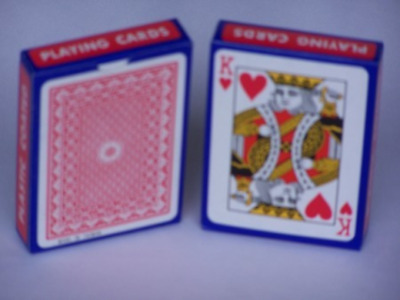 Playing Cards Plastic Coating Single Pack P1020