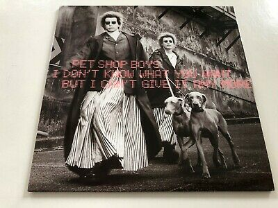 Pet Shop Boys - I Don't Know What You Want... 2 Track CD Single.Rare!!!