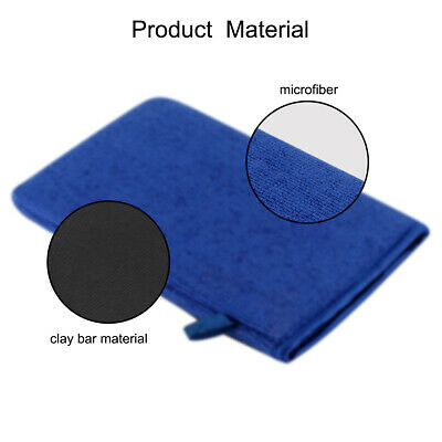 Auto Magic Clay Bar Mitt Glove Fine Grade Car Wash & Polish Detailing Cleaner