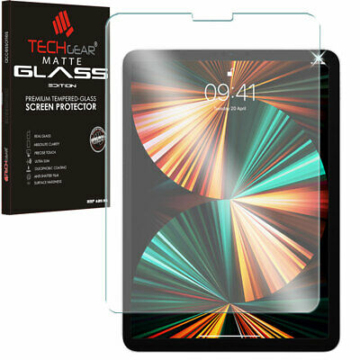 TECHGEAR Anti-Glare TEMPERED GLASS MATTE Screen Protector for iPad Pro 12.9 2018