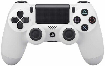 Genuine Sony PS4 Playstation 4 Glacier White Wireless Controller CUH-ZCT2U