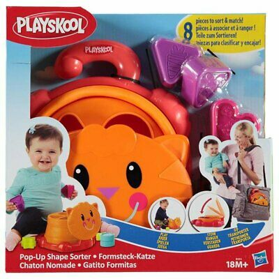 Playskool Pop-Up Shape Sorter For Babies 18+ Months