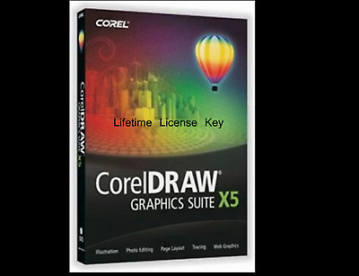 CorelDRAW Graphics Suite X5🔐 Lifetime Lisence Key🔐 Instant Delivery (1m)📬