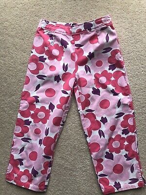 GIRLS MINI BODEN GORGEOUS SUMMER FLORAL Trousers 11-12 Years