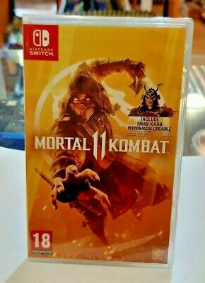 Mortal Kombat 11 SWITCH NUOVO SIGILLATO ITA