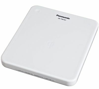 Panasonic Wireless Charger Charge Pad Qe-tm101-w White F/S w/Tracking# Japan New
