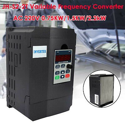 JH-S2-2T 220V Single Phase Variable Frequency Drive Inverter CNC Motor VFD 2.2kW