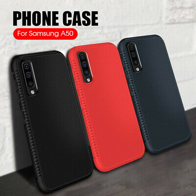 Slim Shockproof Soft Silicone Breathable Case Cover For Samsung A30 A20 A50 A7