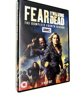 FEAR THE WALKING DEAD SEASON 4 DVD UK REGION 2 Brand New and Sealed Free Postage