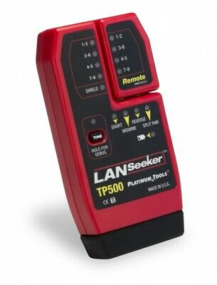 Platinum Tools TP5000C LANSeeker™ Verify & Cable Tester