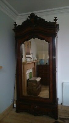 Stunning Reproduction French Antique Wardrobe