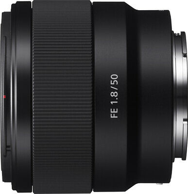 Open-Box Excellent: Sony - FE 50mm f/1.8 Prime Lens for Sony Alpha E-mount Ca...