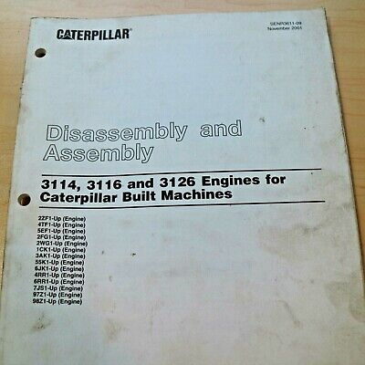 DT-466 DIESEL ENGINE Service Manual 04 and up Disassembly