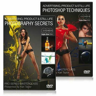 Karl Taylor Pro Series - Advertising, Product & Still Life Photography DVD
