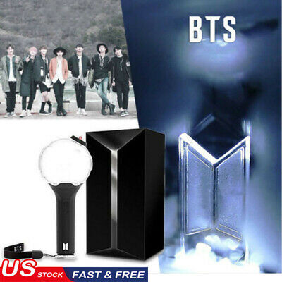 Kpop BTS VER.3 ARMY BOMB Concert Lightstick JIMIN V Glowing Light Stick Lamp New