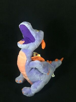 Figment Plush Dragon Disney World Parks Epcot Center Large Stuffed Animal Tags