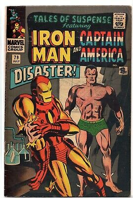 TALES OF SUSPENSE #79 1st Cosmic Cube Tesseract Silver Age Marvel Comics 1966 VG