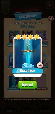 Coin Master Excalibur ( FAST DELIVERY)