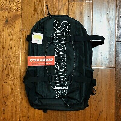 Supreme Waist Bag Black New SoldOut Authentic FW18 B11 Fall Winter 2018 OneSize