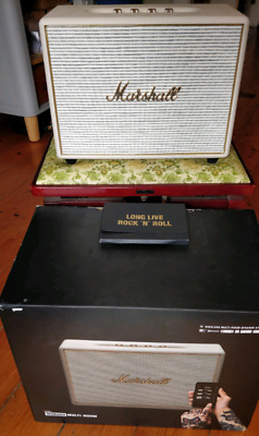 Marshall Woburn Active WiFi Speaker - Cream
