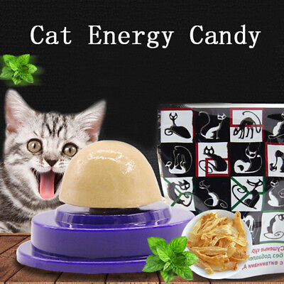 Cat snacks catnip sugar candy licking solid nutrition energy ball toys healthyNT
