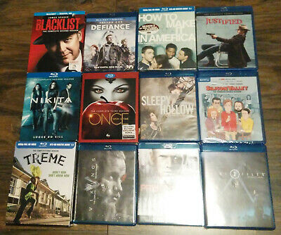 TV Shows on Blu-ray $8 Each