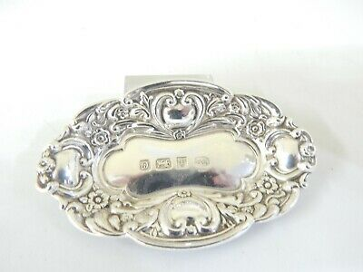 Vintage Hallmarked Sterling Silver B & Co  Small Dish.