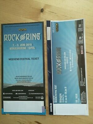 Rock am Ring Weekend Festival Ticket 2019 7.-9.Juni
