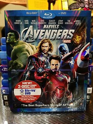Marvel's The Avengers [Blu-ray] DVD complete!!