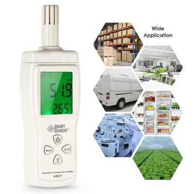SMART SENSOR AS817 Thermometer Hygrometer Digital Humidity Temperature Tester