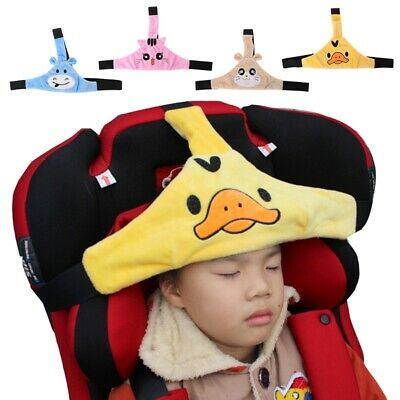 Adjustable Child Kids Safety Car Seat Travel Sleep Aid Head Strap Support New