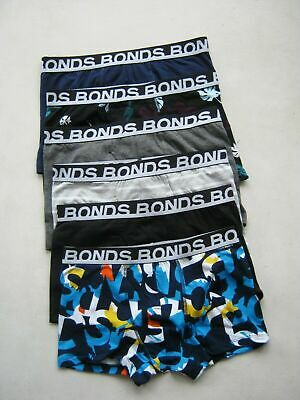 The Ultimate 6 Pack  Mens Bonds Underwear Many Sizes Most Popular