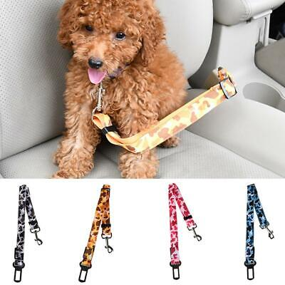 Pets Dogs Harness Cats Safety LED Flashing Light Glowing Leash Rope Seat Belt