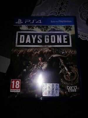 Videogioco Days Gone Ps4 Standard Edition Sony Play Station 4 Italiano Pal Nuovo