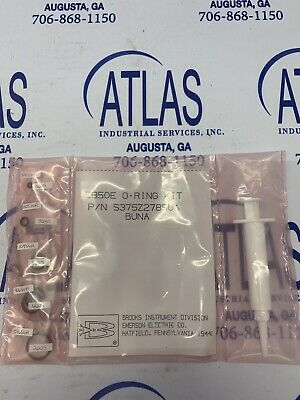 Brooks Instrument Model 5850E Mass Flow Controller O-Ring Kit Part# S375Z278SUA