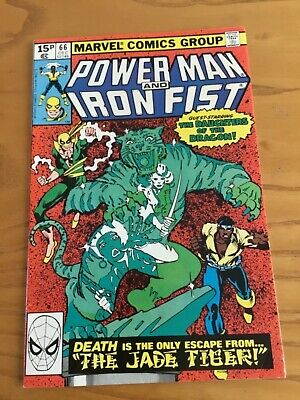 Power Man And Iron Fist #66 2Nd Appearance Sabretooth December 1980